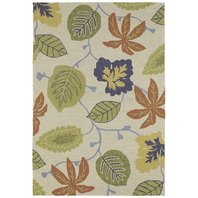 Chloe Linen Floral Indoor/Outdoor Area Rug Rug Size: Square 59