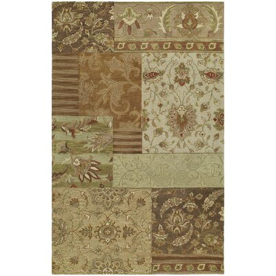 Posen Hand-Woven Wool Bronze Area Rug Rug Size: Rectangle 3 x 5, Color: Bronze
