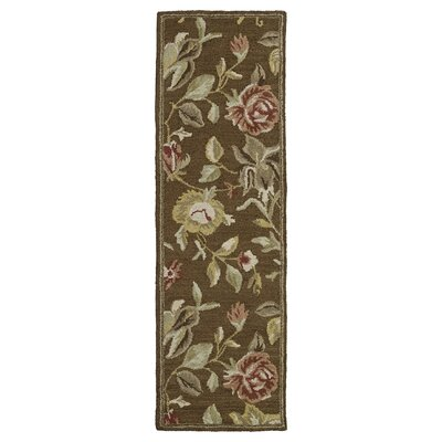 Beverly Chocolate Rug Rug Size: Runner 23 x 76