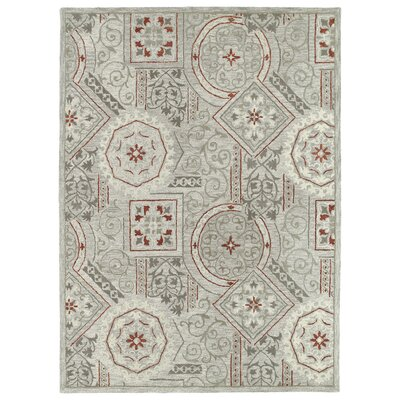 Kendal Pewter Area Rug Rug Size: Rectangle 96 x 13