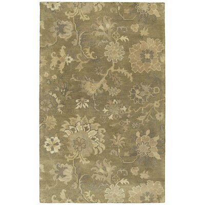 Bilbrook Floral Area Rug Rug Size: Rectangle 36 x 53