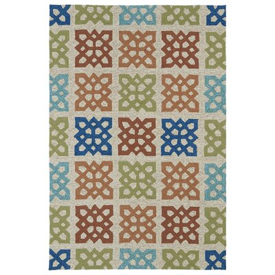 Didama Sand Indoor/Outdoor Area Rug Rug Size: Rectangle 3 x 5