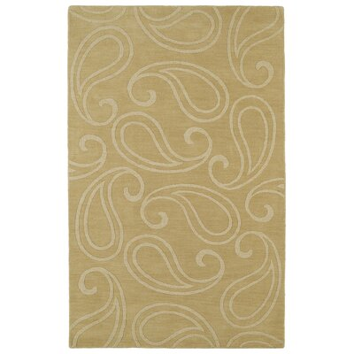 Annetta Yellow Solid Area Rug Rug Size: Rectangle 36 x 56