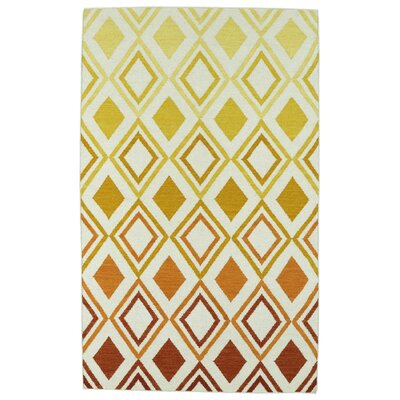 Patton Orange Geometric Area Rug Rug Size: Rectangle 2 x 3