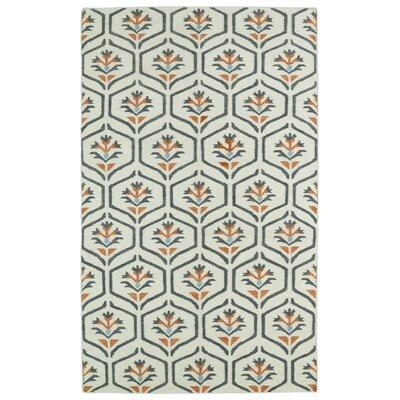 Gillespie Ivory Geometric Area Rug Rug Size: Rectangle 5 x 8