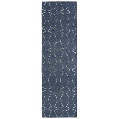 Woodbine Grey Geometric Area Rug Rug Size: Runner 26 x 8