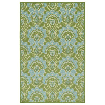 Lewis Green Indoor/Outdoor Area Rug Rug Size: Rectangle 3'10