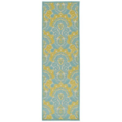 Lewis Multi-colored Indoor/Outdoor Area Rug Rug Size: Rectangle 88 x 12
