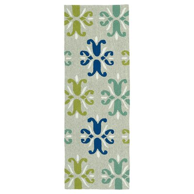 Korinthian Multi Indoor/Outdoor Area Rug Rug Size: Runner 2 x 6