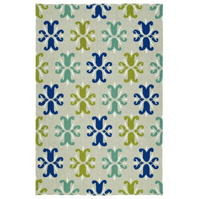Stepanie Multi Indoor/Outdoor Area Rug Rug Size: Rectangle 5 x 76