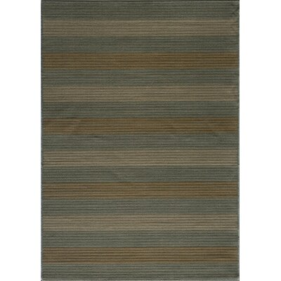 Sherill Blue Area Rug Rug Size: Rectangle 53 x 76