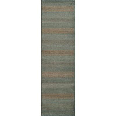 Sherill Blue Area Rug Rug Size: Runner 23 x 76
