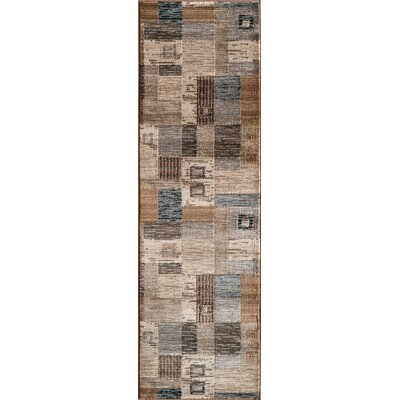 Norwalk Gray Area Rug Rug Size: 93 x 126