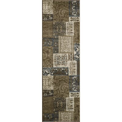 Norwalk Brown Area Rug Rug Size: Runner 23 x 76