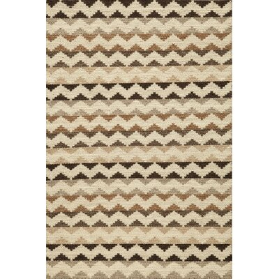 Fowler Hand-Woven Natural Area Rug Size: Rectangle 36 x 56