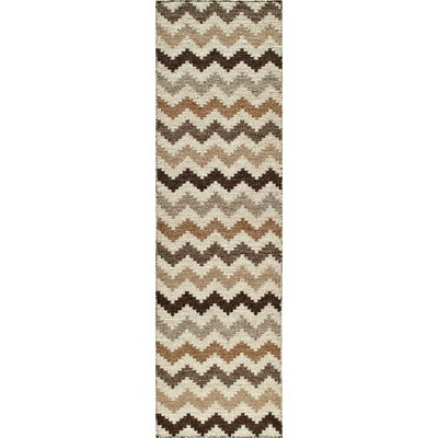 Fowler Hand-Woven Natural Area Rug Size: Runner 23 x 8