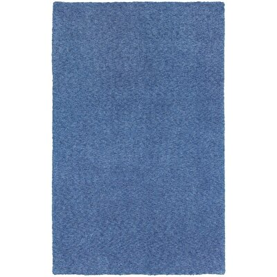 Toronto Hand-Tufted Blue Area Rug Rug Size: Rectangle 5 x 7