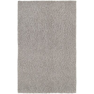 Toronto Hand-Tufted Gray Area Rug Rug Size: Rectangle 8 x 11