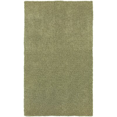 Toronto Hand-Tufted Green Area Rug Rug Size: Rectangle 5 x 7