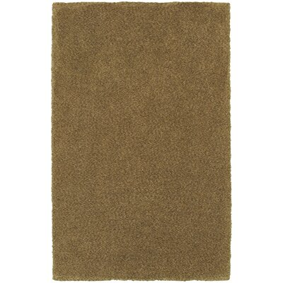Toronto Hand-Tufted Gold Area Rug Rug Size: Rectangle 5 x 7