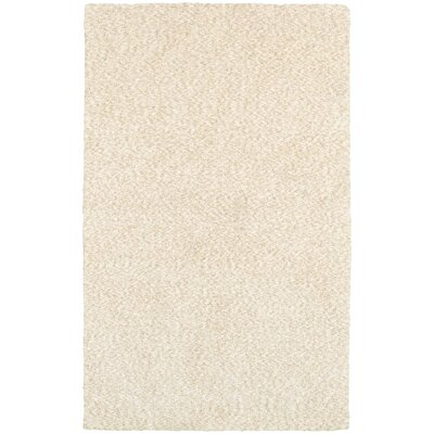 Toronto Hand-Tufted Ivory Area Rug Rug Size: Rectangle 66 x 96