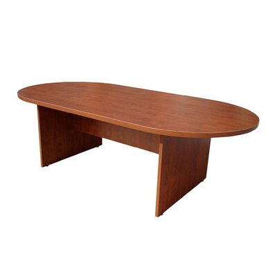 Cheryl Oval Conference Table Color: Cherry, Size: 8 L