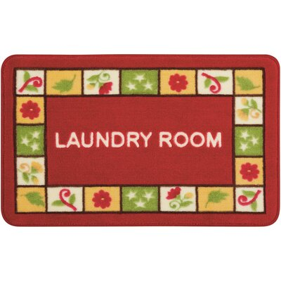 Shirely Red/Green Novelty Rug