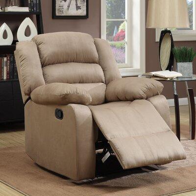 Parkmead Recliner Upholstery: Mocha