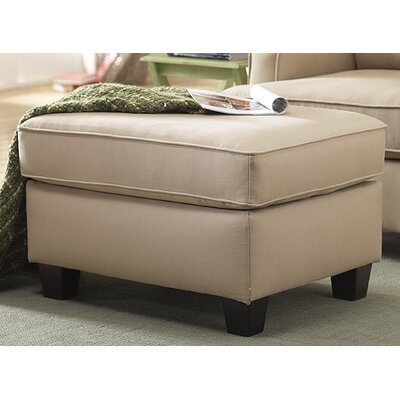 Abbot Ottoman Upholstery Color: Beige