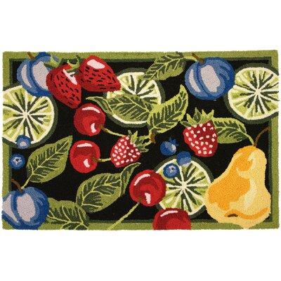 Pemberville Fresh Fruit Area Rug Rug Size: 110 x 210