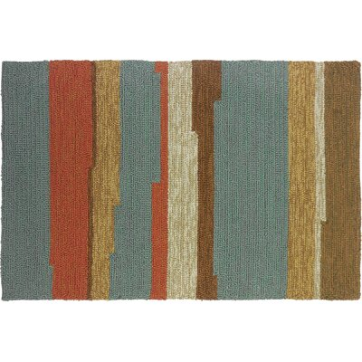 Roswell Stripe Indoor/Outdoor Area Rug Rug Size: 110 x 210