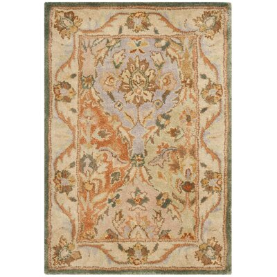 Albertine Hand-Tufted Multi Area Rug Rug Size: Rectangle 2 x 3