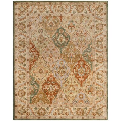 Albertine Hand-Tufted Multi Area Rug Rug Size: Rectangle 5 x 8