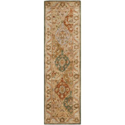 Albertine Hand-Tufted Multi Area Rug Rug Size: Runner 2'3