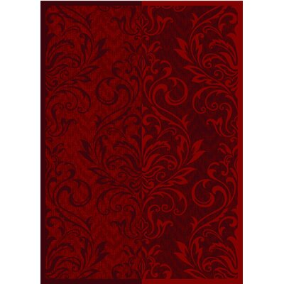 Pettisville Red Area Rug Rug Size: 5 x 7
