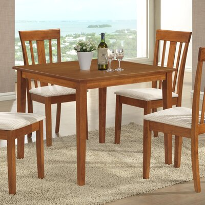 Elsa Dining Table Color: Maple