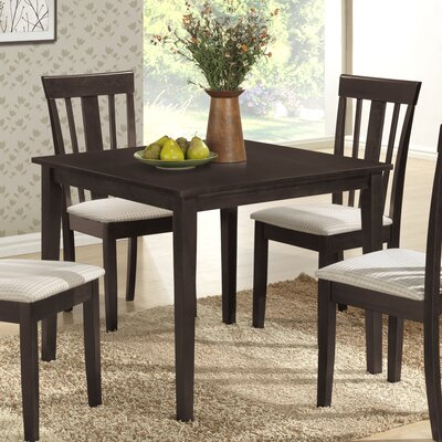 Elsa Dining Table Color: Wenge