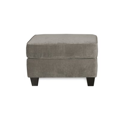Doric Ottoman Upholstery Color: Fusion Platinum