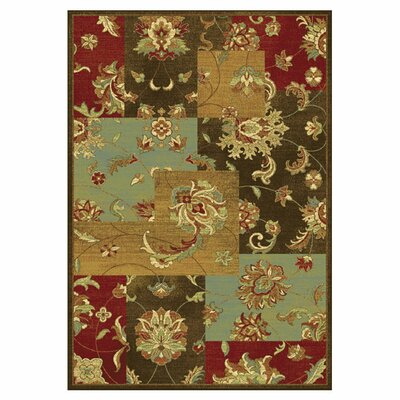 Trinway Mocha Mahal Views Area Rug Rug Size: Runner 22 x 611