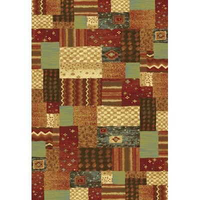 Trinway Text Area Rug Rug Size: 53 x 77