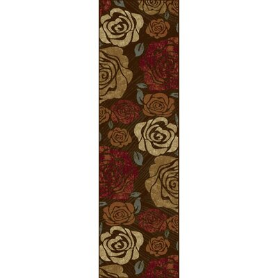 Winters Rose Area Rug Rug Size: Runner 23 x 77