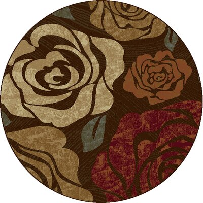 Winters Rose Area Rug Rug Size: Rectangle 53 x 77