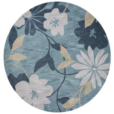 Bradshaw Seafoam/Gray Elegance Area Rug Rug Size: Rectangle 33 x 53