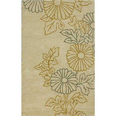 Bradshaw Ivory Sunshine Area Rug Rug Size: Rectangle 8 x 10