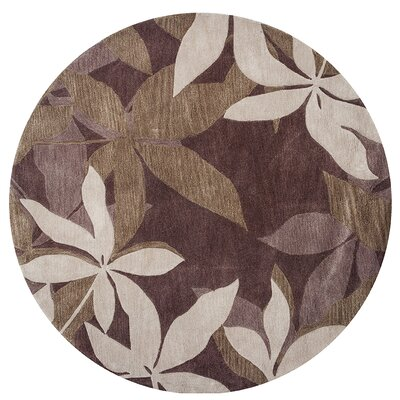 Bradshaw Mocha/Sage Oasis Area Rug Rug Size: Rectangle 5 x 8