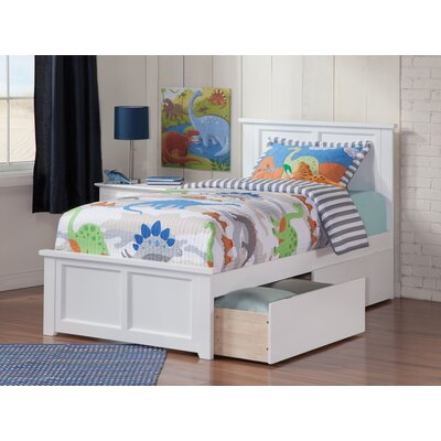Alanna Platform Bed with Underbed Storage Size: Twin