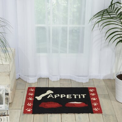 Bardolph Hand-Tufted Doormat Mat Size: Rectangle 18 x 26