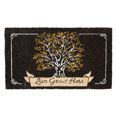 Breonna Love Grows Here Coir Doormat