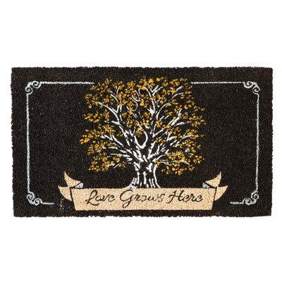 Astoria Love Grows Here Coir Doormat