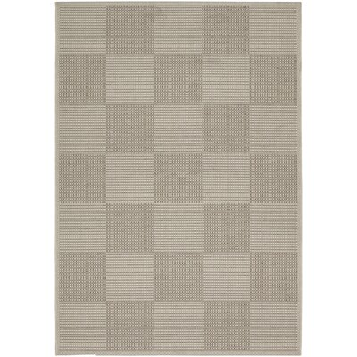Ottoville Concord Cream/Cocoa Indoor/Outdoor Area Rug Rug Size: Runner 27 x 82